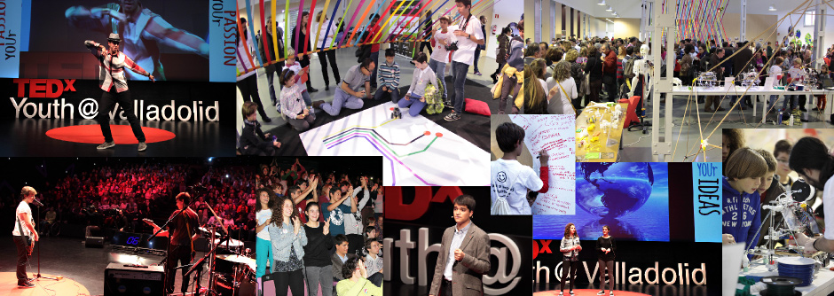 TEDx Youth Valladolid collage 2013