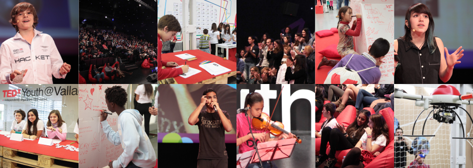 TEDx Youth Valladolid collage 2014