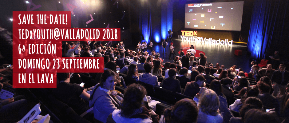 save the date! TEDx Youth Valladolid 2018