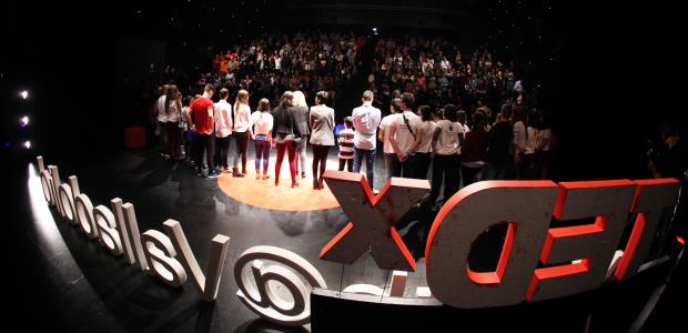 TEDx Youth Valladolid 2015 escenario